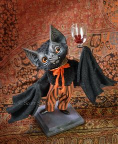 Raising a glass of Halloween cheer. © Scott Smith, Rucus Studio 2013