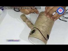 Diy Idea with Jute |Jute crafts|Best out of waste idea with Jute |Jute show piece - YouTube