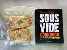 Preparing sous vide pork chops with help from The Home Chef's Sous Vide Cookbook recipe. | sipbitego.com #sousvide #sousvidepork #sousvideporkchops #pork #sousvidecooking #porkchops Sous Vide Pork Chops, Pork Chops Bone In, Pork Loin Chops, Pork Chop Recipes, Sauce Recipes, Sous Vide Cooking, Chops Recipe, Home Chef, Cookbook Recipes