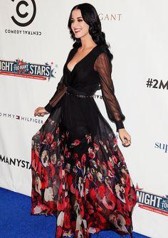 Katy atNight of Too Many Stars- 10.13.12