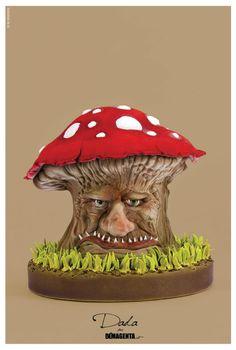 mushroom cake ... finished !!! - Cake by Daniela Segantini