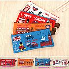 I Love London Pencil Pouch Bag for Pen Stationary Cosmetic Back To School
