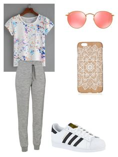 """Caila"" by alexaw20 on Polyvore featuring Icebreaker, adidas and Ray-Ban"
