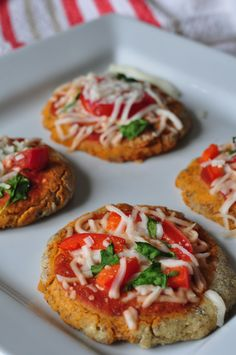 Quinoa Pizza Bites, created by Wendy at Fit-and-Frugal.com for Ancient Harvest #glutenfree