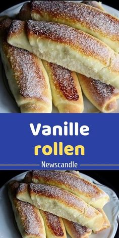 Vanille rollen Vanille rollen The post Vanille rollen appeared first on Kuchen Rezepte. Vanille rollen Vanille rollen The post Vanille rollen appeared first on Kuchen Rezepte. Quick Dessert Recipes, Desserts For A Crowd, Homemade Cake Recipes, Food For A Crowd, Easy Desserts, Cookie Recipes, Easy Recipes, Cod Recipes, Potato Recipes