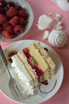 Lemon Cheesecake Recipes, Chocolate Cheesecake Recipes, Delicious Desserts, Dessert Recipes, Yummy Food, Nutella, Polish Recipes, No Bake Cake, Sweet Recipes