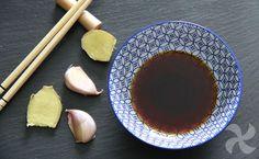 Salsa teriyaki. Con la salsa teriyaki casera prepararás ricos platos asiáticos. Con Thermomix es tan fácil y rápida de hacer que no te lo creerás.
