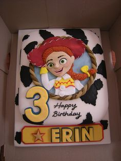 Jesse from Toy Story by Rachel's Cakes, via Flickr
