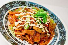 Buta Kimchi (Pork and Kimchi Stir Fry)
