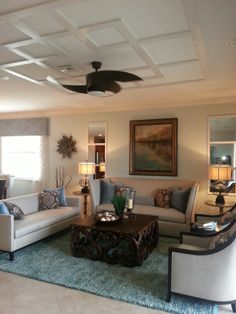 Lennar's Gran Paradiso in Venice Florida interior design by Janet Graham, Baer's Naples