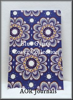 Midori or Fauxdori Travelers Notebook Decorative Insert Cover; Blue Gypsy. 72 Insert Choices. 9 Travelers Notebook Sizes. #160 by AORJournals from AOR Journals by Ann. Find it now at http://ift.tt/2jZ1GuI!