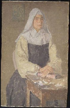 The Nun, Gwen John (1876–1939), Tate