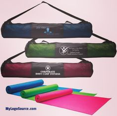 Keep your brand fit & seen with your logo on the Fitness Mat & Carrying Case  http://ift.tt/2b95RSx