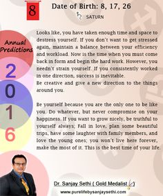 2016 #Numerology‬ #Yearly #Predictions  by Dr.Sanjay Sethi-Gold Medalist and World's No.1 #AstroNumerologist .