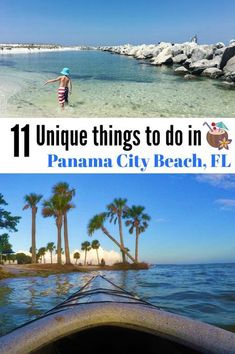 11 Unique things to do in Panama City Beach Florida! #ad #florida #travel #beach #familytravel #panamacitybeach #realfunbeach #visitflorida