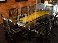 WHERE WOOD MEETS STEEL . . . custom furniture designed & built in Denver, Colorado