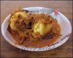 Egg Curry - A tasty curry recipe