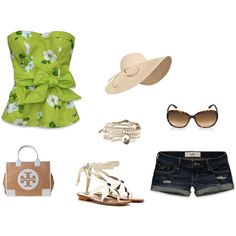 sweet summer time, created by stephanieparker68 on Polyvore