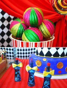 circus theme party ideas | Bright & Bold Circus Party Ideas // Hostess with the Mostess®