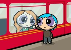 Teddy and Victoire.