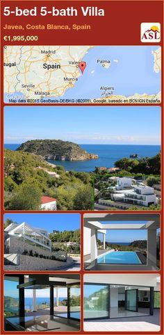 5-bed 5-bath Villa in Javea, Costa Blanca, Spain ►€1,995,000 #PropertyForSaleInSpain