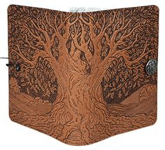 Leather Tree of Life Journal at: http://www.jennibick.com/oberon-journal-tree-of-life.html