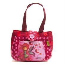 Sac à lunch Ketto, style sac à main - Fille Papillon / Ketto's lunch bag, handbag style - Butterfly girl * Fabriqué à 80% de bouteilles de plastique recyclées / Made of 80% of recycled plastic bottles * www.kettodesign.com