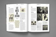 Editorial Design  DADI magazine by Nicolas Zentner