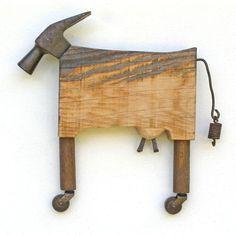 #WELDING ART Metal Sculpture Artists, Steel Sculpture, Art Sculptures, Sculpture Ideas, Welding Art Projects, Wood Projects, Welding Crafts, Welded Art, Metal Welding