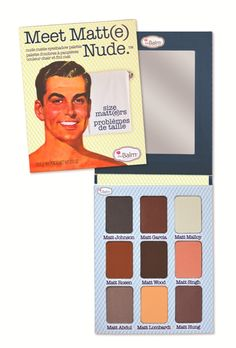 "I seriously cannot stop using this palette! I do not know why I waited this long to use matte eye shadows! Only wish there was another base color like the ""Matt Lombardi""  the Balm Meet Matte Nude Palette #thebalm #makeup"