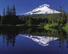 Mount Hood, Oregon, Volcano, Stratovolcano, Usa