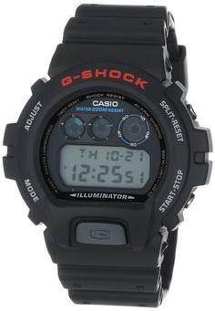 6.Casio Men's DW6900-1V G-Shock Classic Digital Watch