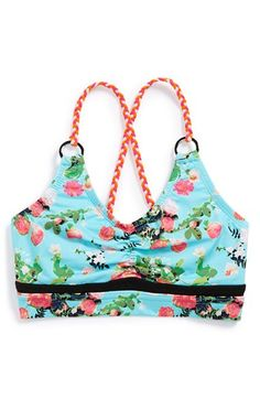 Beach+Bunny+California+Kisses+'Gypsy+Rose'+Bikini+Top+(Big+Girls)+available+at+#Nordstrom