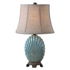 Uttermost 29321 Seashell Table Lamp