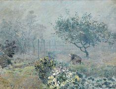 Impressionist Landscape, Impressionism Art, Landscape Art, Landscape Paintings, Oil Paintings, Monet, A4 Poster, Poster Prints, Oil On Canvas