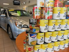 Kendall Subaru of Missoula's Food Drive raised $150 and 74 lbs of food. That is over 500 meals to hungry Montanans! Thanks for helping to fight hunger Kendall of Montana