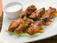 Emeril's Oven Roasted Chicken Wings    These sound amazing and as we are avoiding frying at my house, they sound perfect for us!