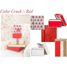 #Red #RedGiftWrap #Holiday #HolidayGiftWrap