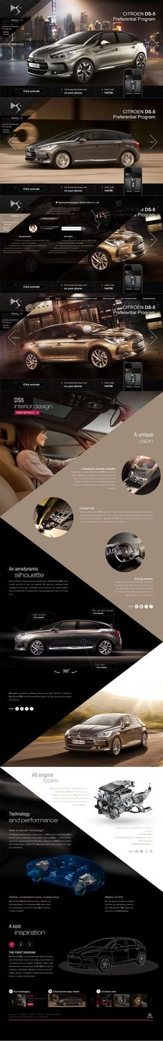 CITROEN DS-5 by Mohamed Eid, via Behance