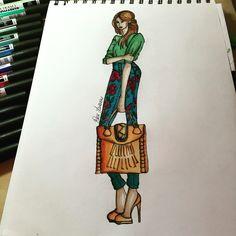 #fashionskecth #fashionillustrator #fashiondesign#drawing