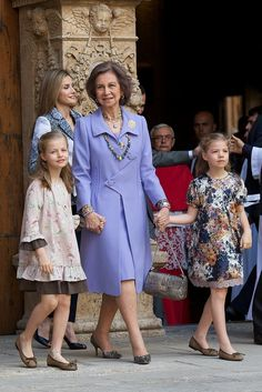 It was almost 10 years ago that Princess Leonor, the heir to the Spanish throne, was born in Madrid. The little royal graced us with the sweetest pictures (and the most adorable outfits) at family outings and official events. Then, in 2007, the cuteness doubled with the birth of her sister, Infanta Sofía, and thus began a time of matching outfits, coordinating hairstyles, and mischievous sisterly smiles.