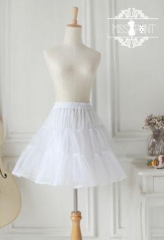 ● original design ● lolita retro organza A-type inner pannier tutu take Waichuan 2way ● - Taobao