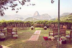 What a view for a wedding! - Santa Teresa (Rio de Janeiro)