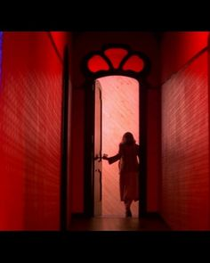 Suspiria is a 1977 Italian horror film directed by Dario Argento, co-written by Argento and Daria Nicolodi, and co-produced by Claudio and Salvatore Argento Color In Film, Dario Argento, Film Inspiration, Film School, Vintage Horror, Nightmare On Elm Street, Red Aesthetic, Horror Films, Scary Movies