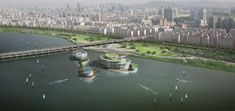 Seoul Floating Islands / Haeahn Architecture + H Architecture   ArchDaily