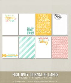 Image of *NEW* Positivity Journaling Cards (Digital)