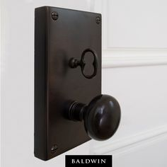The Georgetown Mortise Lock in Venetian Bronze turns this house into a home. Credit: J.E. Schram Architect