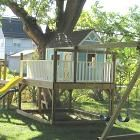 Plans to build a playhouse Capture the playhouse that lives in your child s imagination and make it a reality SaveEmail Hi And Guides 12 Free DIY Playhouse Plans Thrill Build A Playhouse, Playhouse Outdoor, Wooden Playhouse, Playhouse Ideas, Build A Swing Set, Swing Set Plans, Swing Sets, Diy Swing, Deck Plans