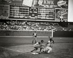 St. Louis Cardinals playing the Chicago Cubs at Sportsman's Park 1941