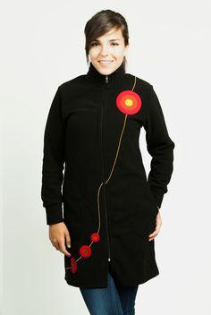 Abrigo multietapa premama, porteo y normal - Tetatet - Camisetas de Lactancia y Vestidos de Lactancia
